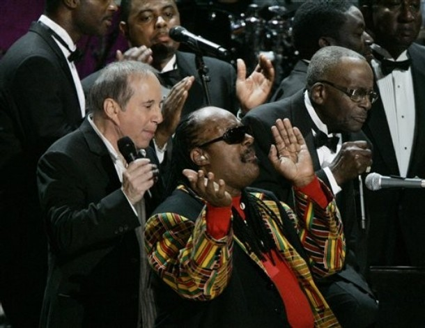 Paul Simon, Stevie Wonder, Ira Tucker